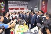 Le vice-PM Vuong Dinh Huê à la cérémonie d'ouverture de CABIS et CAEXPO à Nanning