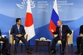Poutine propose de conclure un traité de paix avec le Japon avant la fin de l'année