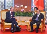Le chef du gouvernement vietnamien reçoit le directeur général de Carlsberg