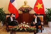 Le vice-Premier ministre Pham Binh Minh reçoit des invités étrangers à Hanoï