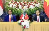 Le président indonésien termine sa visite d'État au Vietnam