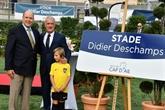 Didier Deschamps inaugure le stade de Cap d'Ail à son nom