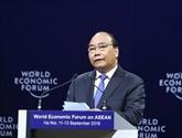 Libre-échange, ASEAN, économie numérique: le PM dépeint sa vision