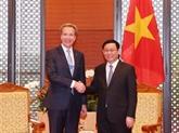 Le Vietnam apprécie la consultation du WEF dans l'organisation du WEF ASEAN 2018