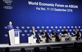 Clôture du Forum économique mondial sur l'ASEAN 2018