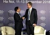 Le WEF ASEAN 2018 s'est clôturé avec grand succès