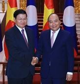Le Premier ministre vietnamien salue son homologue laotien