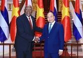 Le Vietnam chérit toujours ses liens avec Cuba, affirme Nguyên Xuân Phuc