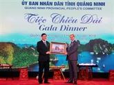 Quang Ninh donne un banquet aux participants au WEF ASEAN 2018