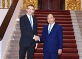 Le Premier ministre rencontre le ministre estonien des Affaires étrangères