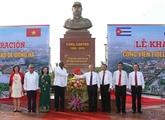 Inauguration du parc Fidel à Quang Tri
