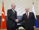 Les présidents russe et turc vont discuter de la Syrie