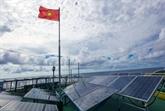 Mise en chantier de la première la centrale solaire à Long An
