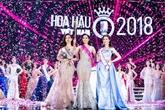 Trân Tiêu Vy sacrée Miss Vietnam 2018