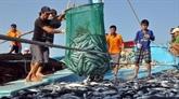 Développement durable du secteur de la pêche