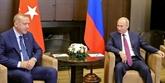 Syrie: Poutine et Erdogan à la recherche de solutions sur le sort d'Idleb