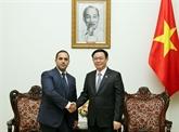 Le ministre bulgare de l'Économie reçu à Hanoï