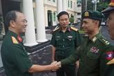 Vietnam - Myanmar: échange des expériences entre les jeunes officiers