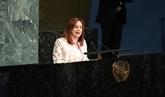 Engagement de la nouvelle présidente de l'Assemblée générale de l'ONU