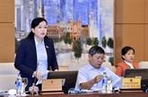 Des questions importantes discutées par le Comité permanent de l'AN