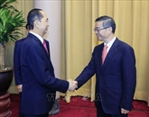 Trân Dai Quang reçoit le président de la Cour populaire suprême de Chine