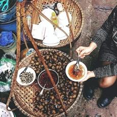 La soupe froide de vermicelles de riz aux escargots, une spécialité de Hanoï