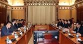 Vietnam - Chine: stimuler la coopération entre Hô Chi Minh-Ville et Hong Kong