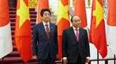 Lettre de félicitations à l'occasion de l'anniversaire des relations Vietnam - Japon