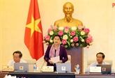 Clôture de la 27e réunion du Comité permanent de l'Assemblée nationale