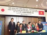 Hô Chi Minh-Ville a un rôle important dans les relations Vietnam - Japon