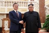 Le président sud-coréen Moon remonte dans un sondage après le sommet