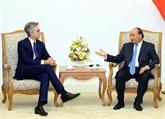 Le PM reçoit le président du groupe allemand SAP