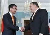 Pompeo s'entretient de la RPDC avec le ministre japonais des AE
