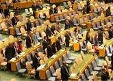 L'Assemblée générale de l'ONU:une minute de silence en mémoire du président vietnamien