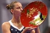 Tennis: Pliskova ramène Osaka sur terre