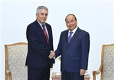 Le PM Nguyên Xuân Phuc reçoit le secrétaire général de la Fédération syndicale mondiale