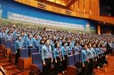 Ouverture du XIIe Congrès syndical national du Vietnam