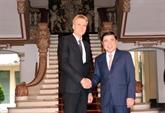 Hô Chi Minh-Ville et Uppsala renforcent leur coopération en matière de hautes technologies
