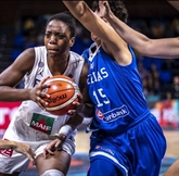 Basket: avertissement sans frais pour les Françaises contre la Grèce
