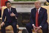 Rencontre Trump - Abe avant l'Assemblée générale de l'ONU