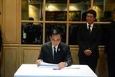 Décès du président Trân Dai Quang: visite de condoléances du PM thaïlandais
