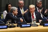 De retour à lONU, Trump évoque sa prochaine rencontre avec Kim