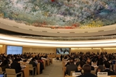 LUA, lUE et lONU sengagent à faire progresser le multilatéralisme