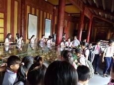 Hanoï promeut léducation au patrimoine dans les écoles