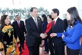 Le président Trân Dai Quang et ses sentiments accordés à Ninh Binh