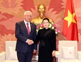 Madame Nguyên Thi Kim Ngân reçoit le président du Sénat biélorusse