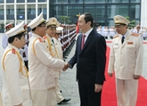Le président Trân Dai Quang et l'œuvre de défense de la sécurité et de l'ordre