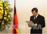Cérémonie funéraire en mémoire du président Trân Dai Quang à New York