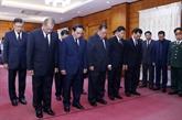 Plusieurs délégations étrangères rendent hommage au président Trân Dai Quang