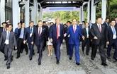 Le président Trân Dai Quang au cœur de ceux qui restent